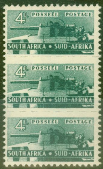 Valuable Postage Stamp from South Africa 1942 4d Slate-Green SG103 Fine & Fresh Lightly Mtd Mint
