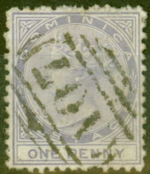 Dominica 1874 1d Lilac SG1 Good Used