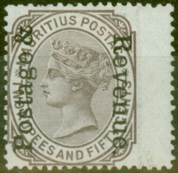 Old Postage Stamp from Mauritius 1902 2R50 Brown-Purple SG162 Fine Mtd Mint