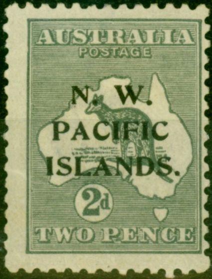 New Guinea 1919 2d Grey SG106a Die II Fine Mtd Mint