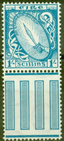 Old Postage Stamp from Ireland 1940 1s Light Blue SG122 Fine Mtd Mint