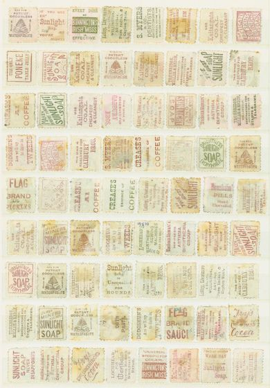 Old Postage Stamp from New Zealand 1891-1900 Advertisement Stamp Collection Range of Issues from 1d to 1s Very High Cat Value