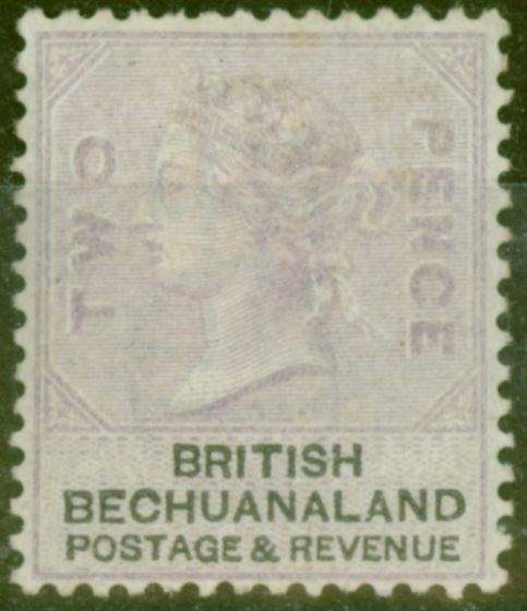 Valuable Postage Stamp from Bechuanaland 1888 2d Pale Dull Lilac & Black SG11a Good Mtd Mint