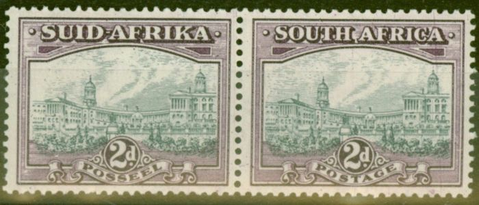 Collectible Postage Stamp from South Africa 1941 2d Slate-Grey & Dull Purple SG58a V.F Lightly Mtd Mint