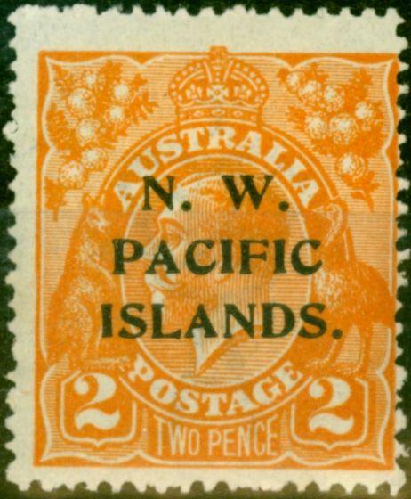 New Guinea 1921 2d Orange SG121 Fine Mounted Mint