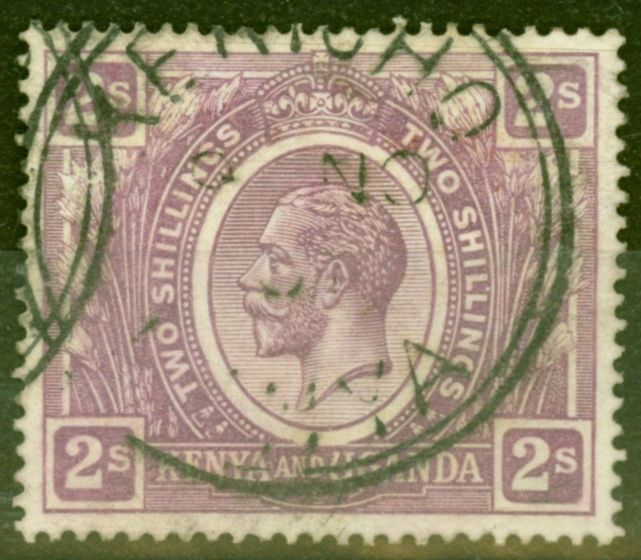 Collectible Postage Stamp from KUT 1922 2s Dull Purple SG88 Fine Used