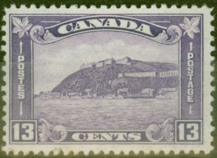Collectible Postage Stamp from Canada 1932 13c Brt Violet SG325 Fine Mtd Mint