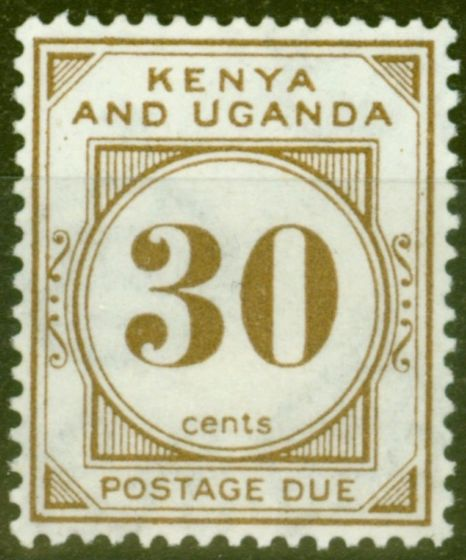 Valuable Postage Stamp from KUT 1931 30c Brown SGD4 Fine & Fresh Lightly Mtd Mint
