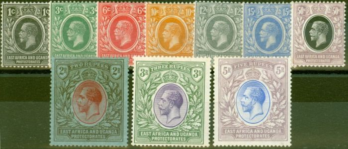Valuable Postage Stamp from KUT 1921 set of 10 SG65-74 Fine & Fresh Mtd Mint