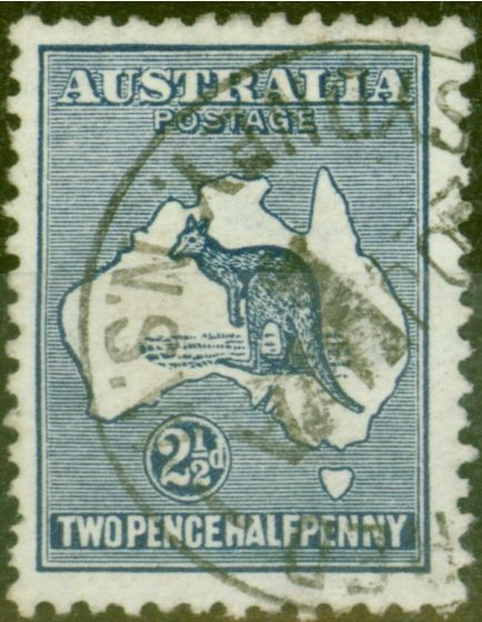 Collectible Postage Stamp from Australia 1913 2 1/2d Indigo SG4 Fine Used