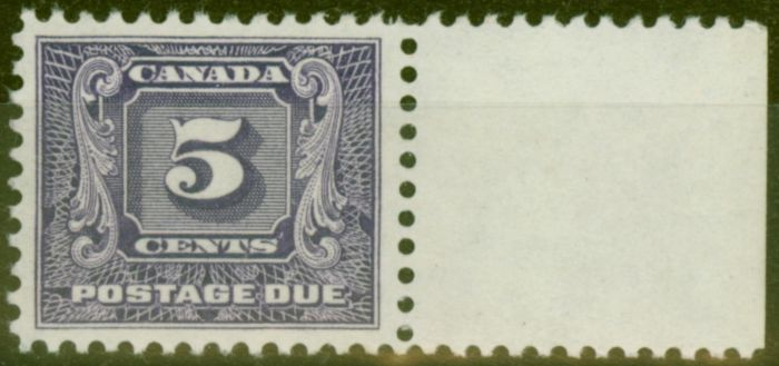 Valuable Postage Stamp from Canada 1931 5c Brt Violet SGD12 V.F Very Lightly Mtd Mint