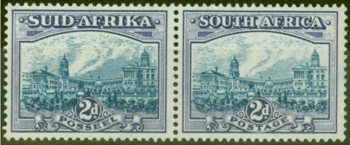 Collectible Postage Stamp from South Africa 1938 2d Blue & Violet SG58 V.F Lightly Mtd MInt