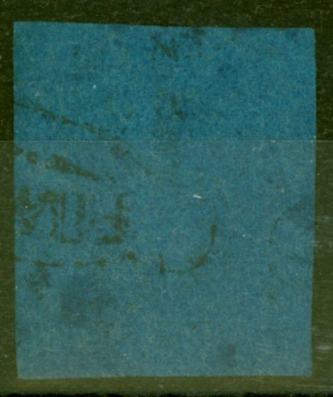 Old Postage Stamp from Natal 1859 1d Blue SG1 Ave Used Genuine Example