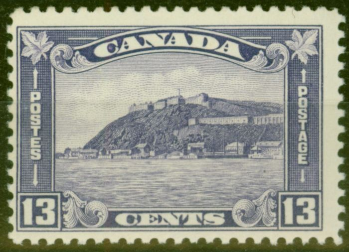 Collectible Postage Stamp from Canada 1932 13c Brt Violet SG325 V.F MNH