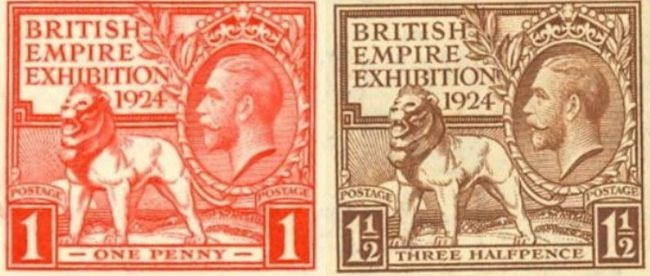 1924 Exhibition stamps