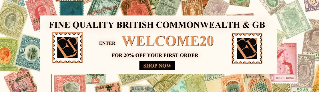 Welcome Discount for Empire Philatelists
