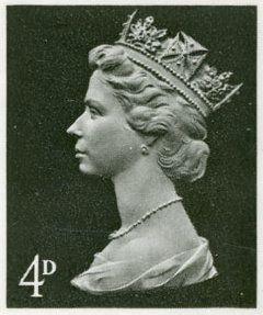 Queen Elizabeth Machin stamps