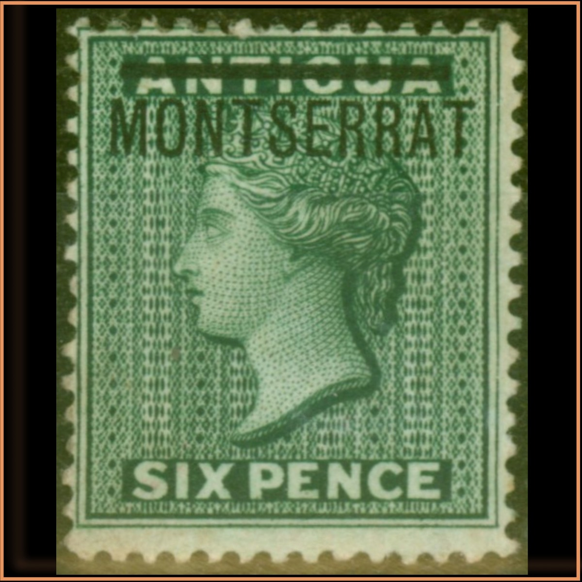 Montserrat 1876 SG3 £745