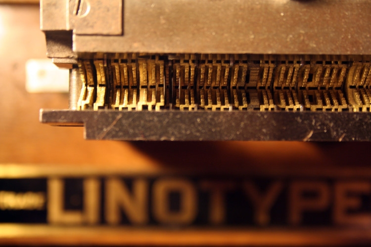 Postage Stamp Printing Press