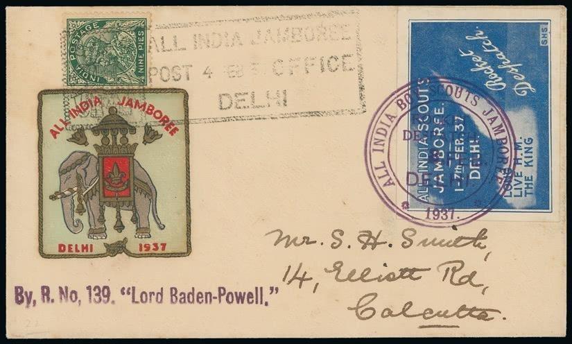 Sample envelope of rocket post