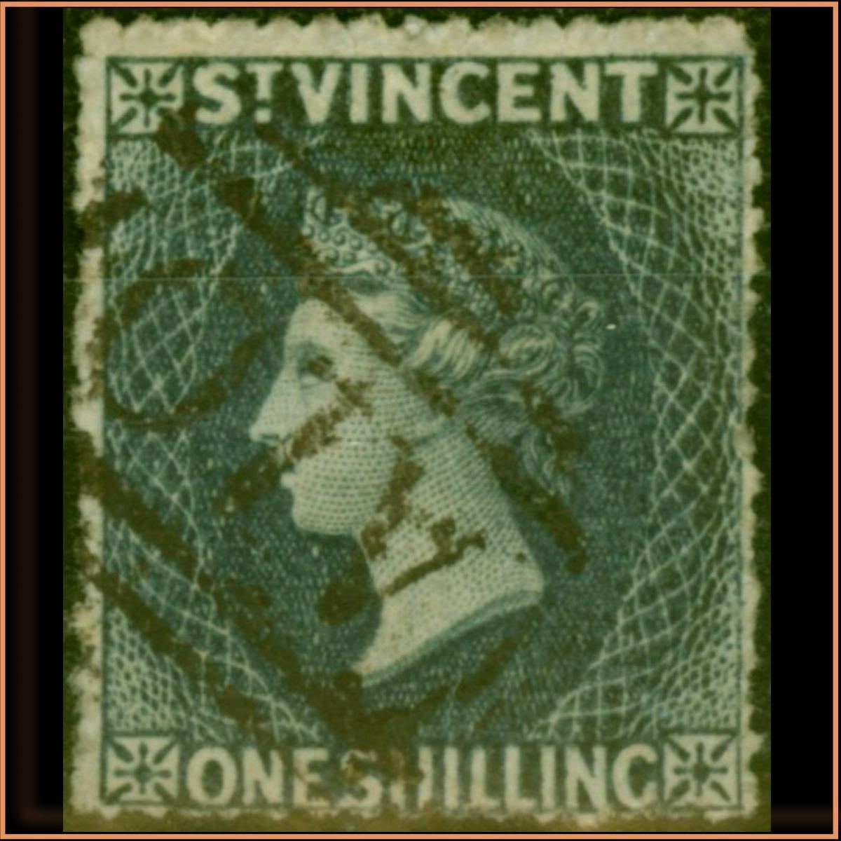 St Vincent 1866 SG9 £78