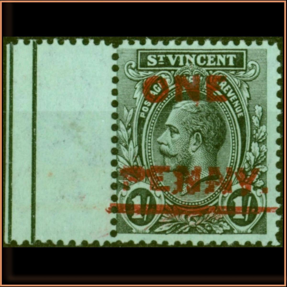 ST VINCENT 1915 SG121C