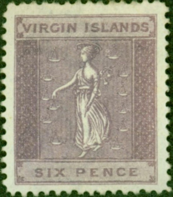 Virgin Island stamp errors