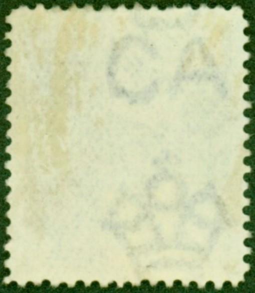 Virgin Island stamp error watermark