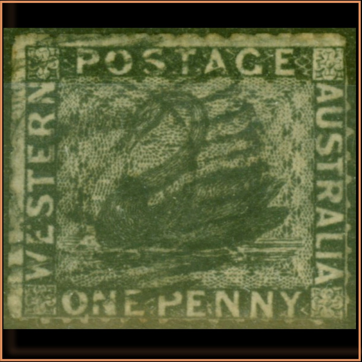 West Australia 1854 SG2 £395