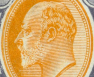 King Edward VII Collectible Stamps