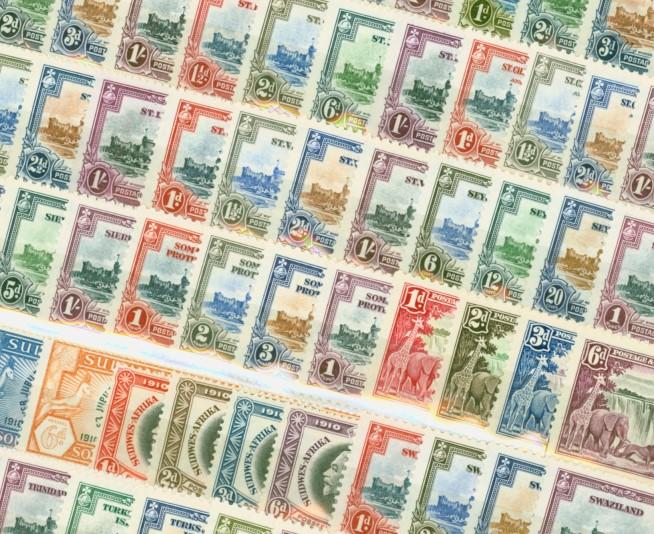 Omnibus Issue stamps